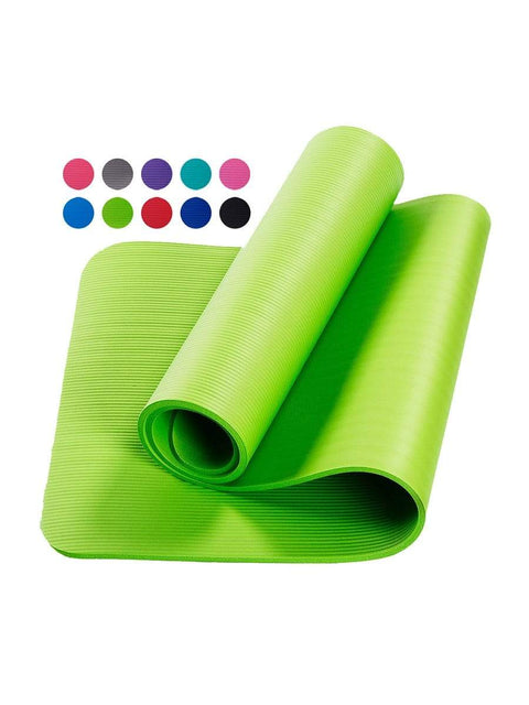 Color=Mint Green | Non-Slip Eco-Friendly Yoga Mat For Pilates And Floor Exercises-Mint Green 1