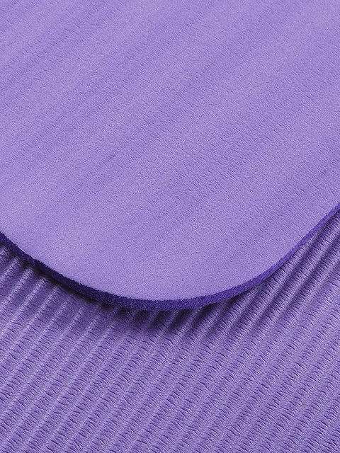 Color=Purple | Non-Slip Eco-Friendly Yoga Mat For Pilates And Floor Exercises-Purple 3