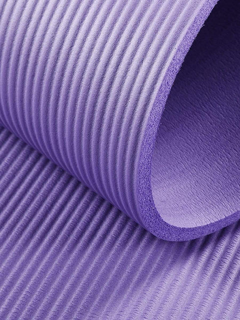 Color=Purple | Non-Slip Eco-Friendly Yoga Mat For Pilates And Floor Exercises-Purple 6