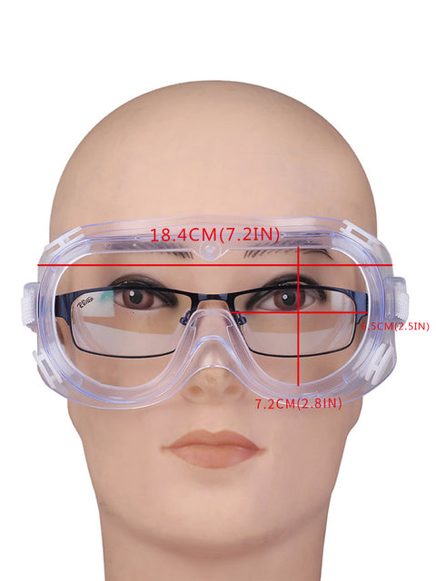 Anti-Spitting Anti-Fog Breathable Myopia Closed Safety Glasses