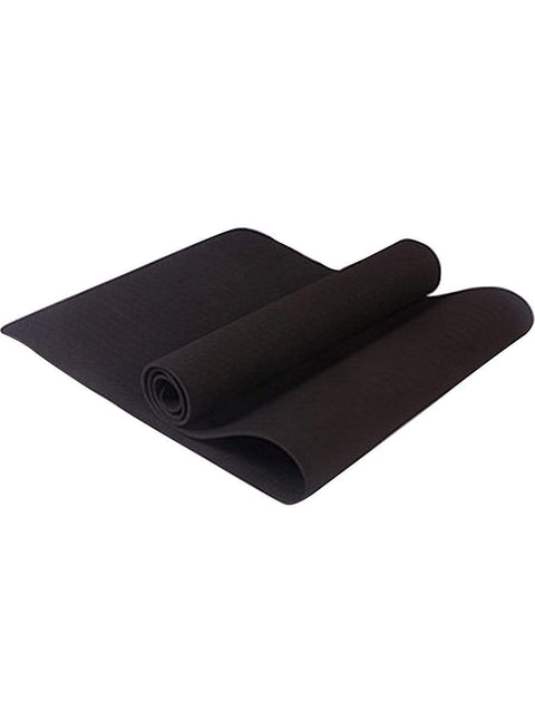 Color=Black | Non-Slip Workout Pad For Yoga And Floor Exercises-Black 1