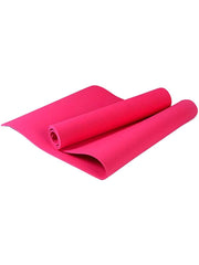 Color=Coral | Non-Slip Workout Pad For Yoga And Floor Exercises-Coral 1