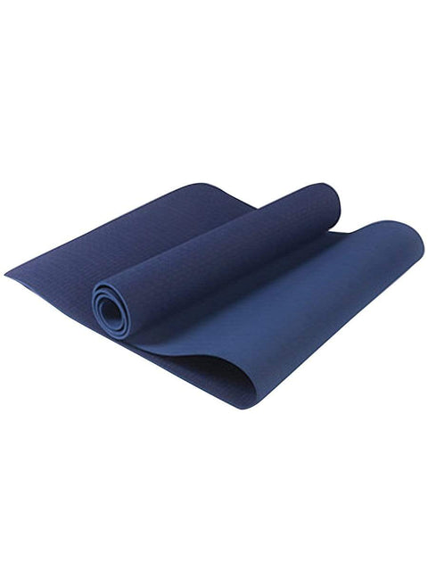 Color=Dusty blue | Non-Slip Workout Pad For Yoga And Floor Exercises-Dusty Blue 1