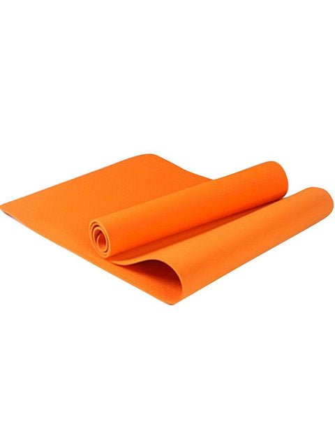 Color=Orange | Non-Slip Workout Pad For Yoga And Floor Exercises-Orange 1