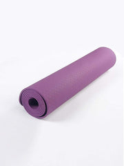 Color=Purple | Non-Slip Workout Pad For Yoga And Floor Exercises-Purple 2