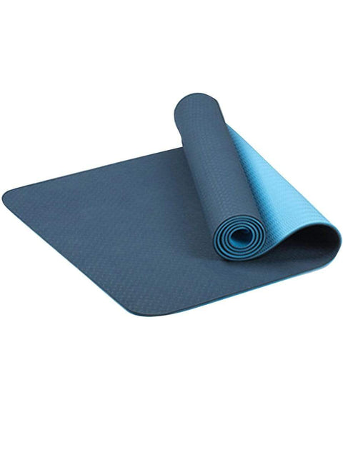 Color=Dusty Blue | Simple Thick Non-Slip Exercise & Fitness Mat For Yoga-Dusty Blue 1