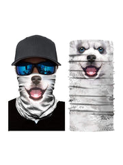 Color=Multicolor6 | 3D Animal Anti-Uv Neck Gaiter Warmer For Ski Halloween Costume-Multicolor6 1