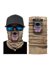 Color=Multicolor7 | 3D Animal Anti-Uv Neck Gaiter Warmer For Ski Halloween Costume-Multicolor7 1