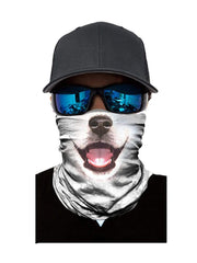 Color=Multicolor8 | 3D Animal Anti-Uv Neck Gaiter Warmer For Ski Halloween Costume-Multicolor8 2