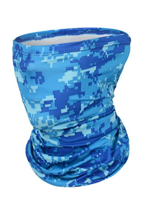 Color=Sky Blue | Outdoors Uv Protection Colorful Face Neck Gaiter For Adults-Sky Blue 1