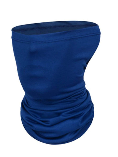 Color=Navy Blue | Outdoors Uv Protection Colorful Face Neck Gaiter For Adults-Navy Blue 1