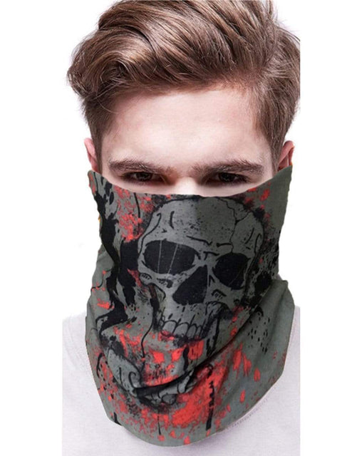 Color=Multicolor7 | 3D Animal Multifunctional Anti-Uv Neck Gaiter Warmer For Sports-Multicolor7 2