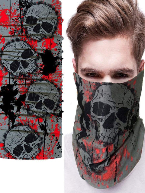 Color=Multicolor7 | 3D Animal Multifunctional Anti-Uv Neck Gaiter Warmer For Sports-Multicolor7 1