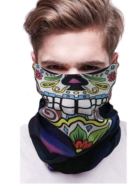 Color=Multicolor15 | 3D Animal Multifunctional Anti-Uv Neck Gaiter Warmer For Sports-Multicolor15 2