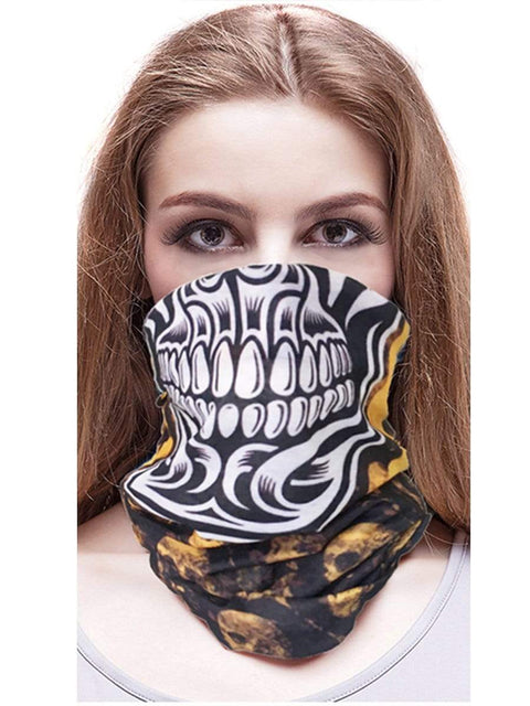 Color=Multicolor18 | 3D Animal Multifunctional Anti-Uv Neck Gaiter Warmer For Sports-Multicolor18 2