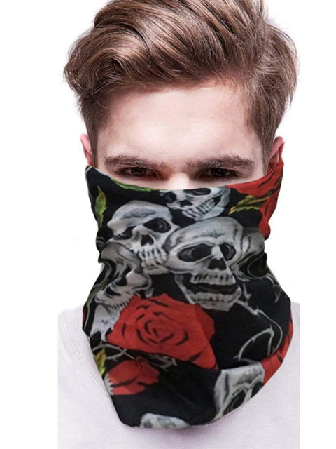 Color=Multicolor19 | 3D Animal Multifunctional Anti-Uv Neck Gaiter Warmer For Sports-Multicolor19 2