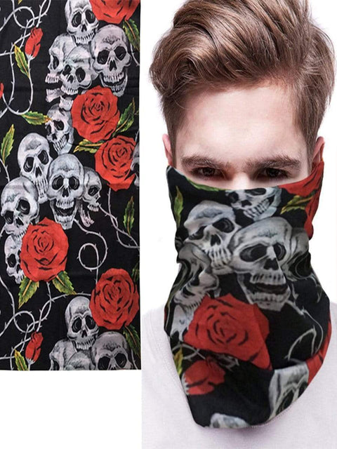 Color=Multicolor19 | 3D Animal Multifunctional Anti-Uv Neck Gaiter Warmer For Sports-Multicolor19 1