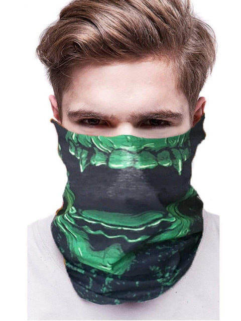 Color=Multicolor21 | 3D Animal Multifunctional Anti-Uv Neck Gaiter Warmer For Sports-Multicolor21 2