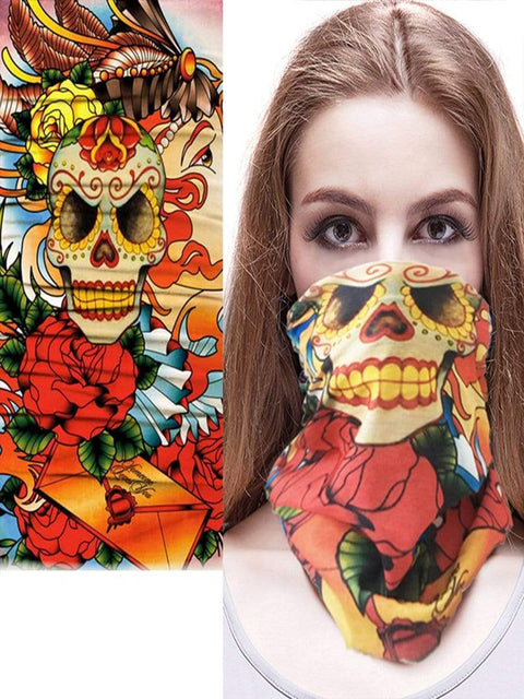 Color=Multicolor23 | 3D Animal Multifunctional Anti-Uv Neck Gaiter Warmer For Sports-Multicolor23 1