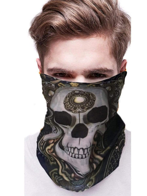 Color=Multicolor24 | 3D Animal Multifunctional Anti-Uv Neck Gaiter Warmer For Sports-Multicolor24 2