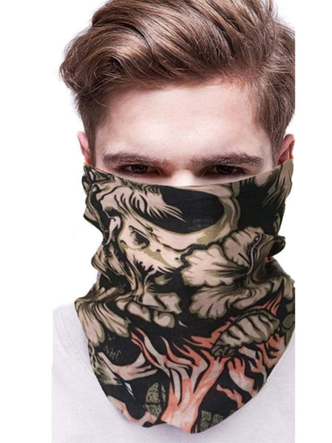 Color=Multicolor25 | 3D Animal Multifunctional Anti-Uv Neck Gaiter Warmer For Sports-Multicolor25 2
