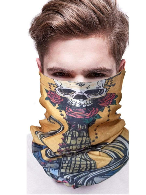 Color=Multicolor26 | 3D Animal Multifunctional Anti-Uv Neck Gaiter Warmer For Sports-Multicolor26 2