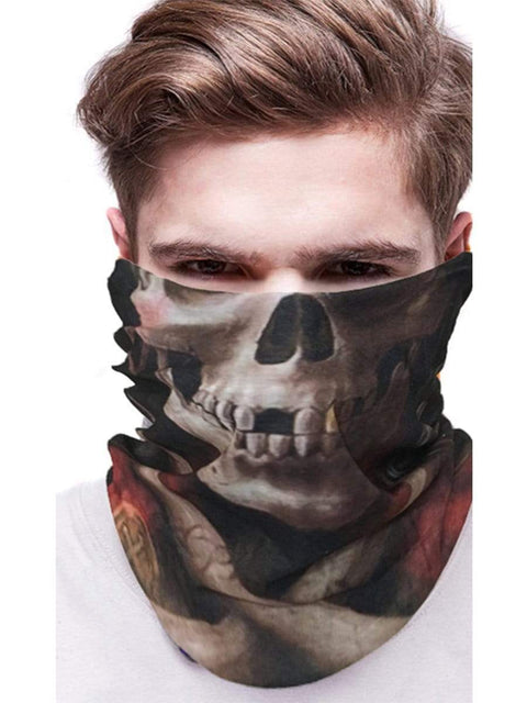 Color=Multicolor28 | 3D Animal Multifunctional Anti-Uv Neck Gaiter Warmer For Sports-Multicolor28 2