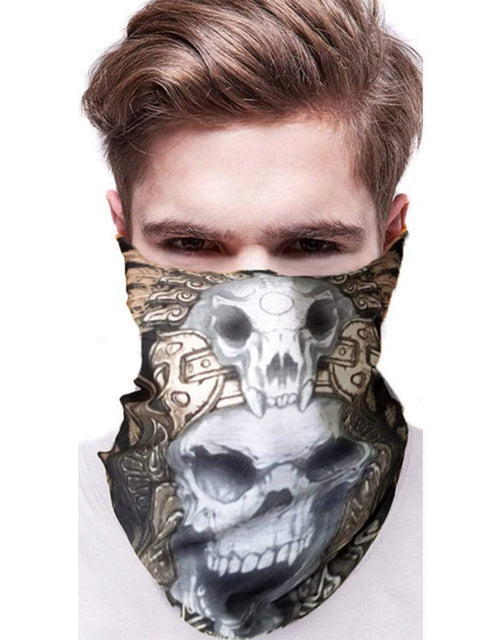 Color=Multicolor32 | 3D Animal Multifunctional Anti-Uv Neck Gaiter Warmer For Sports-Multicolor32 2