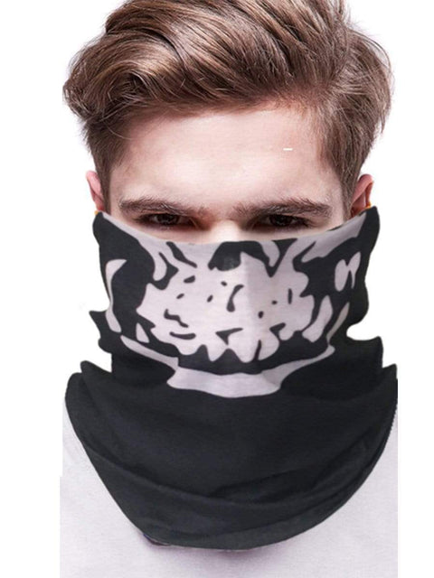 Color=Multicolor37 | 3D Animal Multifunctional Anti-Uv Neck Gaiter Warmer For Sports-Multicolor37 2