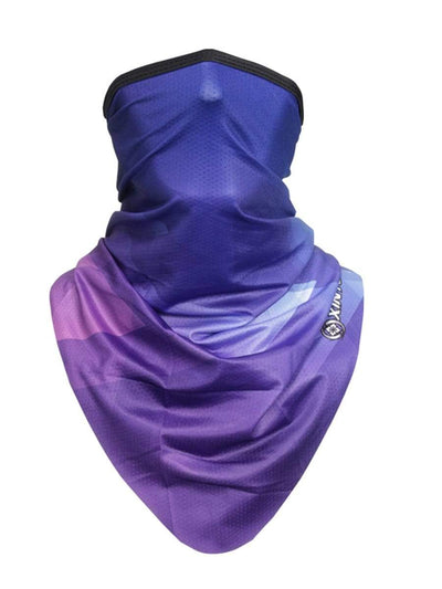 Color=Multicolor1 | Fashion Street-Styling Printed Neck Gaiter For Riding Sports-Multicolor1 1