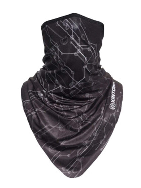 Color=Multicolor6 | Fashion Street-Styling Printed Neck Gaiter For Riding Sports-Multicolor6 1