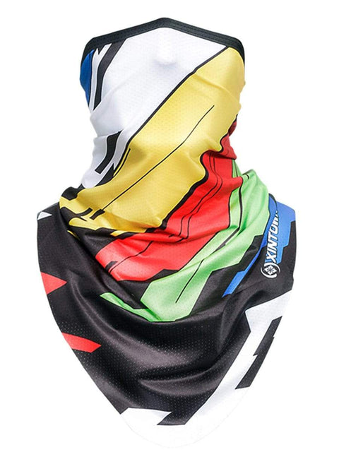 Color=Multicolor13 | Fashion Street-Styling Printed Neck Gaiter For Riding Sports-Multicolor13 1