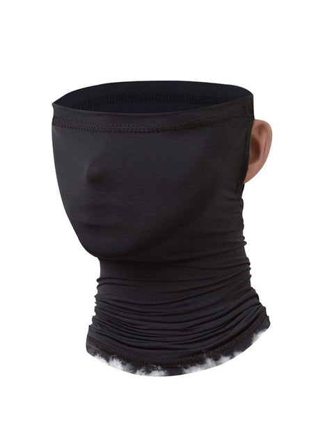 Color=Black | Adult'S Hanging Ears Ice Silk Protective Neck Gaiter-Black 1