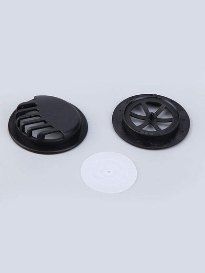 Color=Black | Anti Pollution Mouth Filter Breathing Value-Black 1