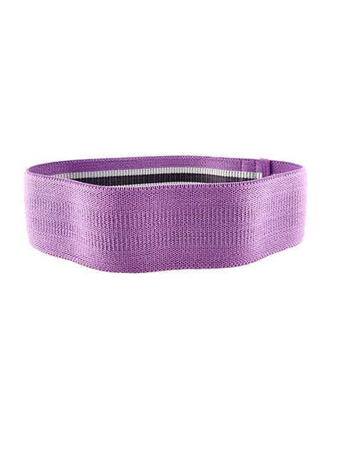 Fabric Resistance Workout Assist Bands For Yoga Sports-Purple 1