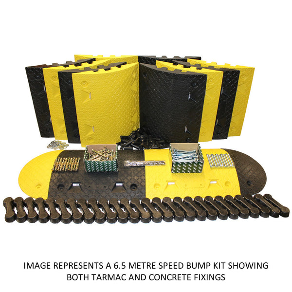 SBD 7 Metre Speed Bump Kit (Free Delivery) - Speed Bumps