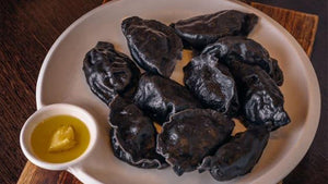ShanDong MaMa-Squid Ink Dumplings山東媽媽-墨魚水餃