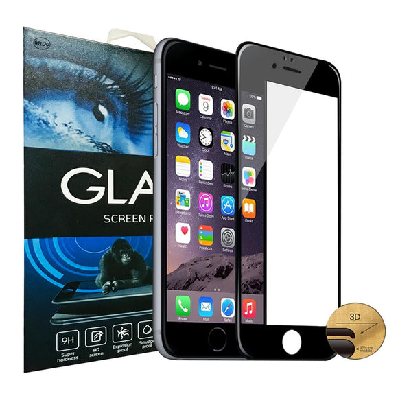 iPhone 7 Plus/ 8 Plus all standing tempered glass screen protector (BK) iPhone 7 Plus/ 8 Plus 全覆??化膜黑色 - seekit@brisbane