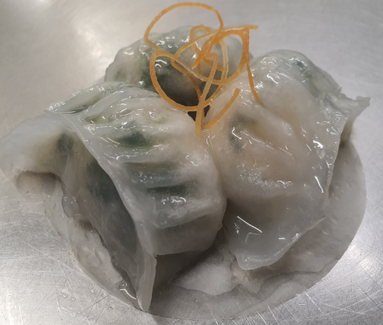 Enjoy-inn Hamilton - Chive Prawn Dumpling 鮮蝦韮菜餃  6粒 - seekit@brisbane
