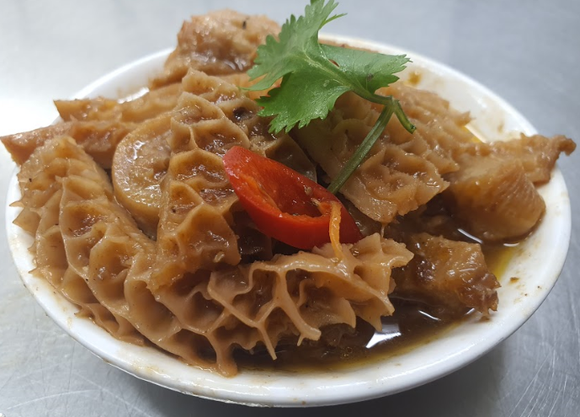 Enjoy-inn Hamilton - Beef Tripe with Chu Hou Sauce 柱候牛肚 300g - seekit@brisbane