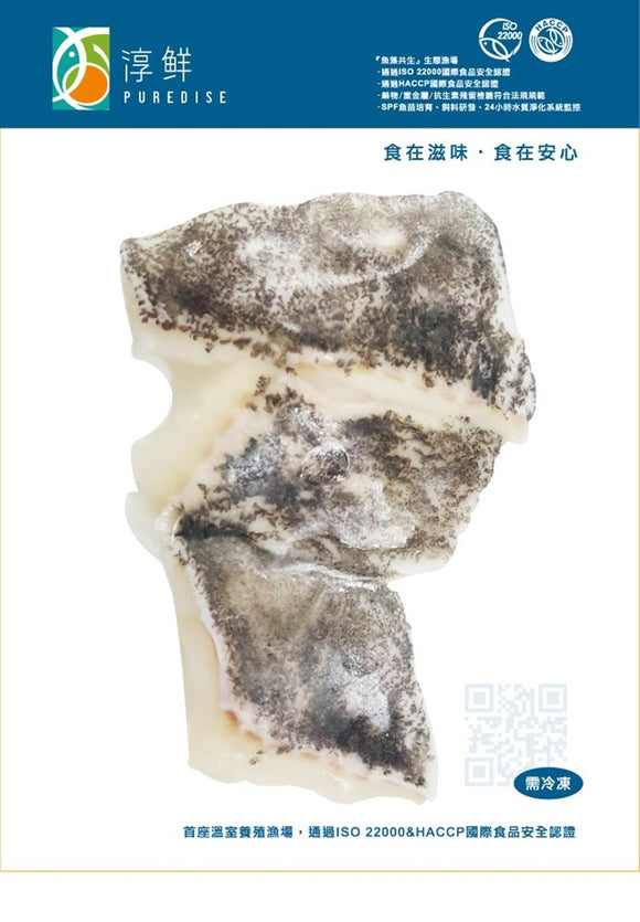 Hydean - Frozen Hybrid Grouper Maw Steak 200g 冷凍龍虎斑魚腹排