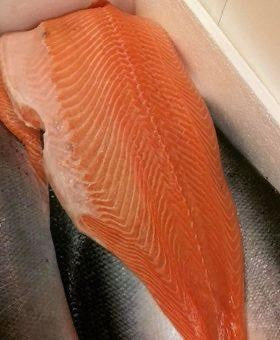 Frs Atlantic Salmon Fillet 大西洋鮭魚塊 1 塊裝(1KG)