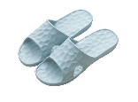 water cube Q slipper BU 43-44 水立方Q彈拖鞋 藍灰 43-44(270mm)