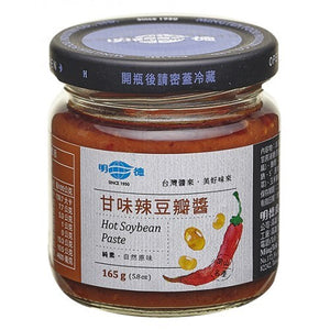 MINGTEH Hot Soybean Paste 明德甘味辣豆瓣醬