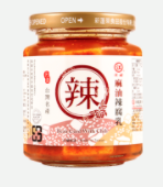 MaRuKangSpicy fermented bean curd with sesame oil 270g 江記豆腐乳-麻油豆腐乳(辣)