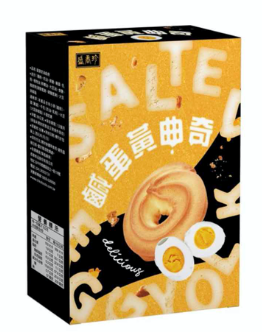 Shjfoods-Triko salted egg yolk flavour cookie 88g 盛香珍-鹹蛋黃曲奇
