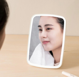 XiaoMi小米 - J&J Table-top LED cosmetic mirror WT 佐敦朱迪台式LED化妝鏡 米白色 - seekit@brisbane