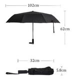 XiaoMi小米 - koug-gu automatic umbrella 空谷自動傘WD1黑色 - seekit@brisbane