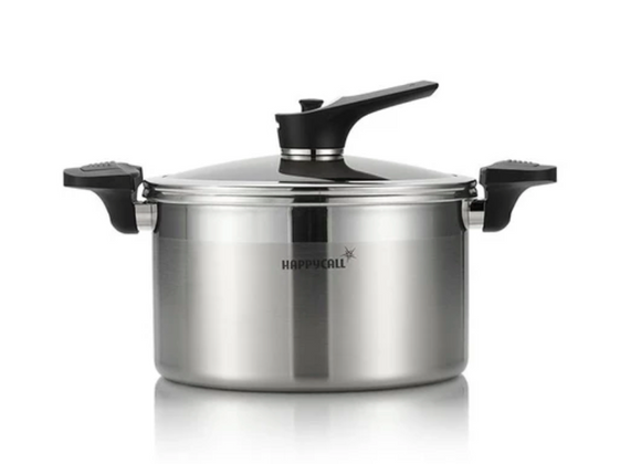 Buffalo - Korea HappyCall Stainless steel vacuum pressure deep soup pot 24cm 韓國HappyCall不鏽鋼真空壓力深湯鍋 24cm - seekit@brisbane