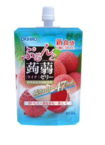 Orihiro Jelly Pouch 130g Apple 吸果凍 荔枝